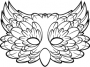 Feathered Venetian Mask